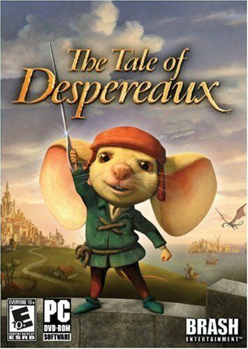 Computer Games - The Tale Of Despereaux PC Games Windows 10 8 7 XP Computer kid family fun NEW