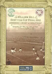 SCOTTISH CUP FINAL 2012: Hibernian v Hearts