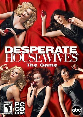 Computer Games - Desperate Housewives The Game PC Games Windows 10 8 7 XP Computer mystery