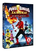 Power Rangers Samurai DVD