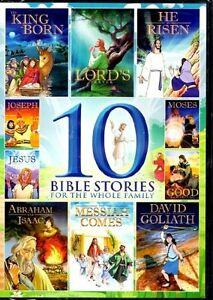 10 Bible Stories for the Whole Family