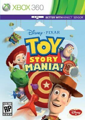 Toy Story Mania The Video Game XBox 360 NEW Sealed FULL Original UK Version