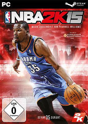 PC Computer Spiel * NBA 2K15 * National Basketball Association 2015