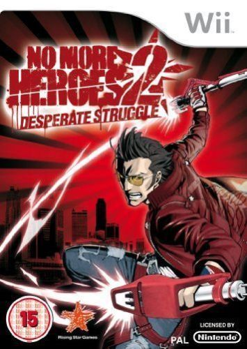 No More Heroes 2: Desperate Struggle for Wii