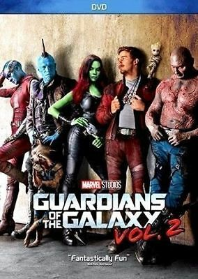 Guardians Of The Galaxy Vol  2   Dvd 2017   Action   Super Fast Shipping