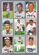 Bowman Baseball Card Lot 1951