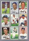 Bowman Baseball Card Lot 1951