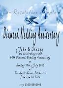 Diamond Wedding Invitations