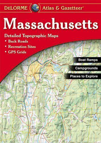 Massachusetts State Atlas & Gazetteer, by DeLorme