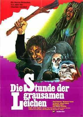 Hunchback Of Morgue Poster 02 Metal Sign A4 12x8 Aluminium - Morgue Sign