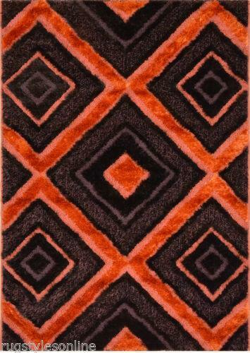 Orange Brown Rug Ebay