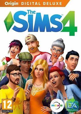 Big Sale   Bonus Games   The Sims 4 Deluxe Edition Pc Mac Game Region Free