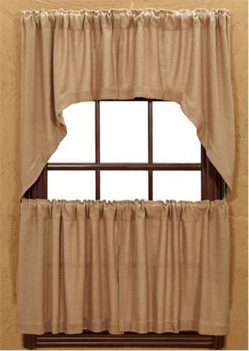country curtains for kitchen burlap curtains ebay 5962