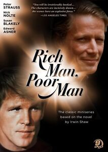 RICH MAN POOR MAN COMPLETE COLLECTION I + II New Sealed 9 DVD Set