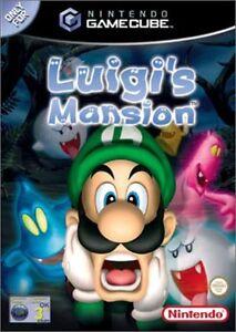 Luigi's Mansion Gamecube!