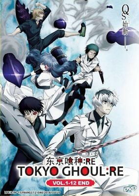 Tokyo Ghoul  Re  Season 3  Dvd  Eps 1 12 End  With English Audio