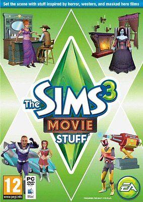 PC& Mac DVD Juego los Sims 3 Movie Accesorios Añadir Extensión Nuevo segunda mano  Embacar hacia Argentina