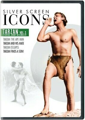 Silver Screen Icons: Tarzan Starring Johnny Weissmuller Volume 1 [New