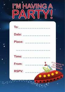 Party Invitations Party Stationery Ebay