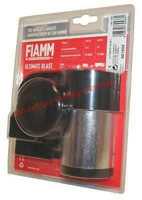 Fiamm AM80s Luxe Dual Horn Set 12v High /& Low Note Snail Compact Car Motorcycle