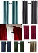 IKEA Velvet Curtains