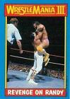 1987 Topps Wrestling Cards