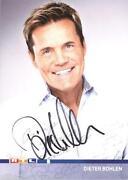 Autogrammkarte Dieter Bohlen