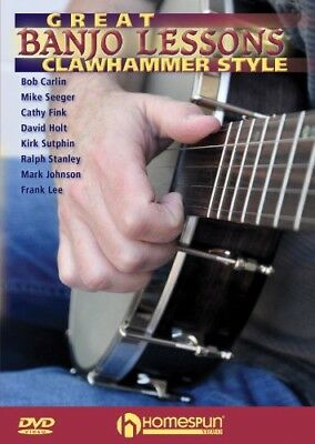 Great Banjo Lessons: Clawhammer Style [New DVD] NTSC Format Banjo Style Dvd
