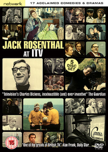 JACK ROSENTHAL AT ITV. 17 acclaimed comedies and dramas. 5 discs. New DVD.