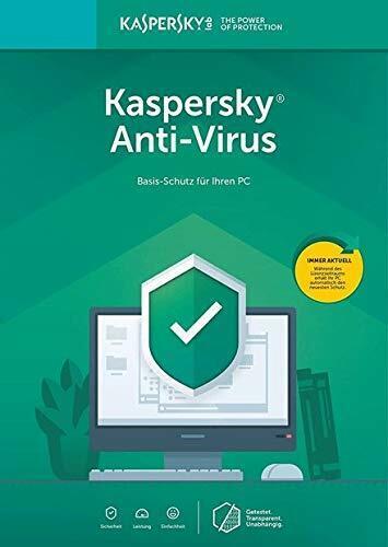 Kaspersky Anti-Virus 2020 350-365 Tage ab Versandtag Windows Code