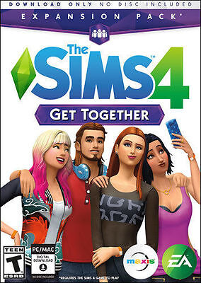 The Sims 4 Get Together  Pc  Mac Games    Free Shipping