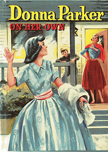 "Vintage Book: ""Donna Parker -On Her Own"""