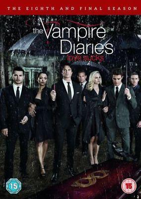 THE VAMPIRE DIARIES season 8/Final season Region 2 New DVD Quick dispatch, occasion d'occasion  Expédié en Belgium