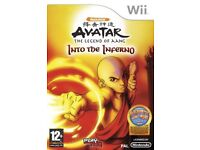 Avatar The Legend Of Aang Into The Inferno Wii Game