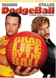Dodge Ball dvd-Full Screen-Excellent condition + bonus dvd