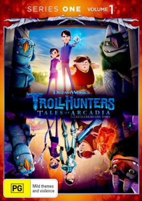 Trollhunters: Season 1: Volume 1 DVD 2017 BEST ANIMATED TV SERIES BRAND NEW