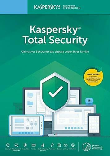 Kaspersky Total Security 2020 für 1PC Gerät 1 Jahr Antivirus Software Download