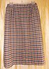 Regular 100% Wool 8 Vintage Skirts for Women
