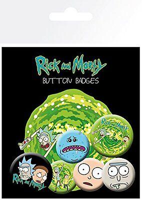 Rick and Morty Characters Sanchez Badge Pack Pin Badges