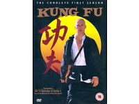 Kung Fu - The Complete First Season Box set, 15 Episodes (DVD, 2004,New Mint.