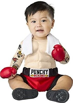 Incharacter Baby Bruiser Boxer Punchy Boxing Infant Halloween Costume 16072](Infant Boxing Halloween Costumes)