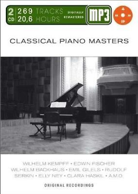 Classical Piano Masters Mp 3 by Kempff CD second hand Hold Music Chillout