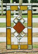 Clear Stained Glass Window