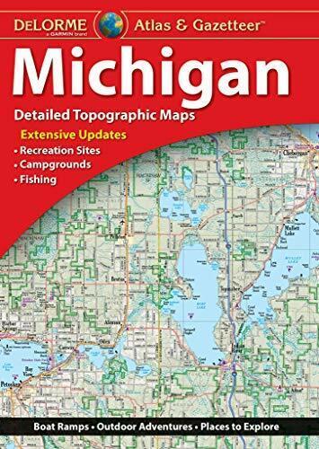 Michigan State Atlas & Gazetteer, by DeLorme