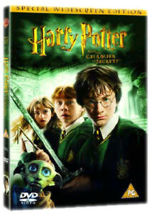 Harry Potter and the Chamber of Secrets DVD (2003) Daniel Radcliffe