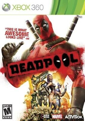 XBOX 360 MARVEL GAME DEADPOOL DEAD POOL BRAND NEW & SEALED
