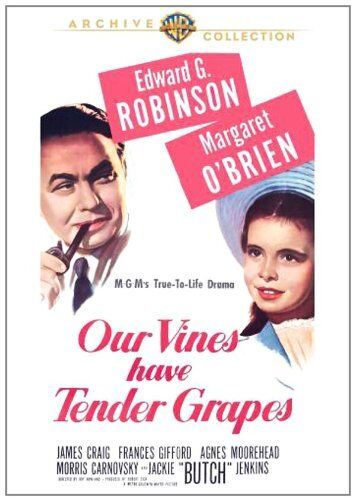 OUR VINES HAVE TENDER GRAPES (1945 Edward G.Robinson) Region Free DVD - Sealed