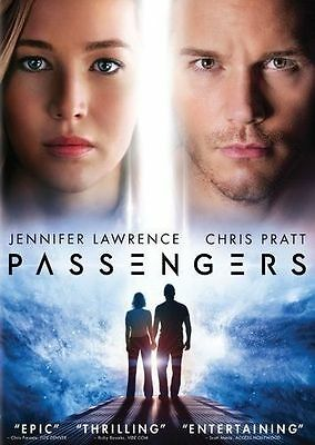 Passengers Dvd 2017 Jennifer Lawrence Chris Pratt Ws Brand New Sealed Free Ship