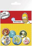 Simpsons Pin Badge