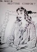 Crochet Bed Jacket Patterns